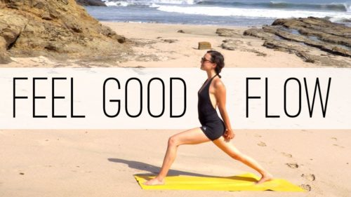 Yoga for Running and Running for New Job Jitters!