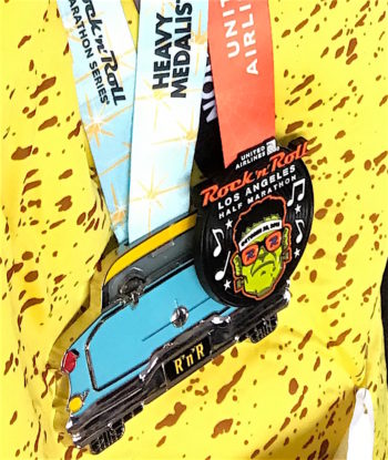 Race Recap: Rock'n Roll Los Angeles Half Marathon!